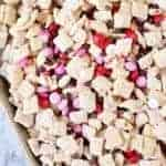 Valentine's Day Muddy Buddy Chex Mix