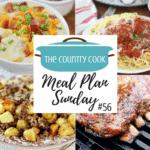 Homemade Marinara Sauce and Meatballs ~ Meal Plan Sunday #56