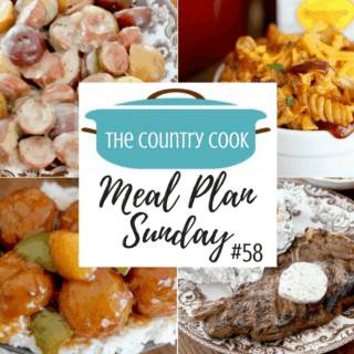 Meal Plan Sunday 58 recipes