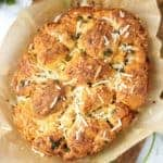 Crock Pot Garlic Parmesan Pull-Apart Bread