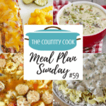 Pork Chop Casserole ~ Meal Plan Sunday #59
