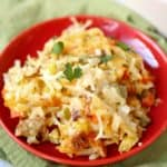 Tex-Mex Sausage Hashbrown Casserole recipe