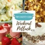 Strawberries and Cream Salad ~ Weekend Potluck #315
