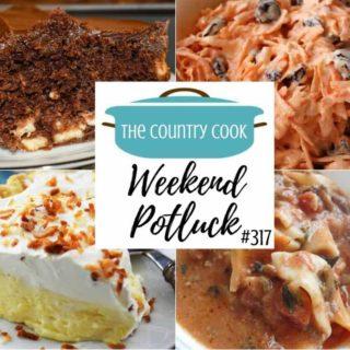 Easy Coconut Cream Pie ~ Weekend Potluck #317