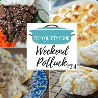 Easy One Hour Dinner Rolls ~Weekend Potluck #314