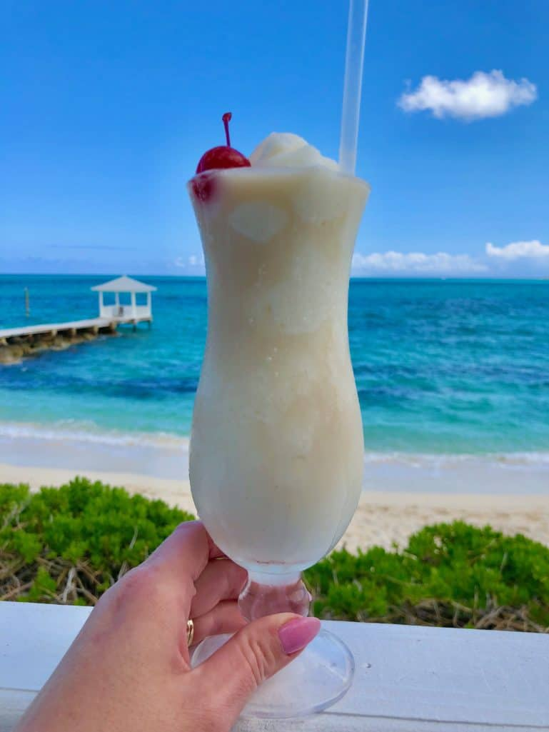 Pina Colada in the Bahamas