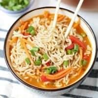 Easy Ramen Noodle Bowls recipe