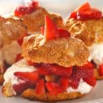 Homemade Southern Strawberry Shortcakes