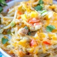Tex Mex Hash Brown Casserole