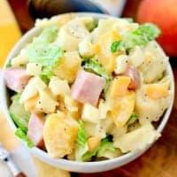 Tortellini and Ham Pasta Salad