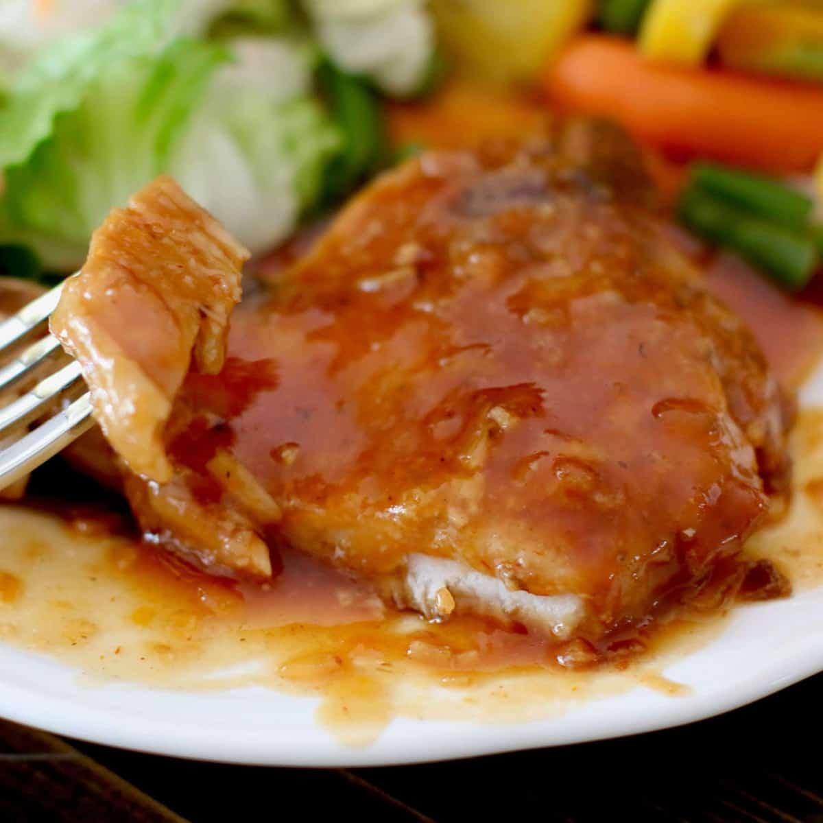 Crock Pot BBQ Pork Chops recipe