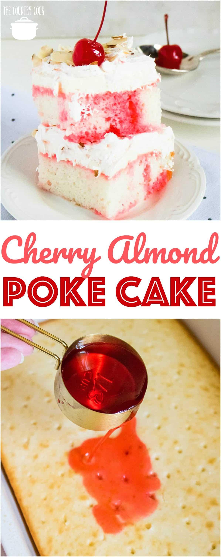 Maraschino Cherry Cake Using White Cake Mix