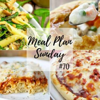 My Favorite Baked Spaghetti at Meal Plan Sunday #70