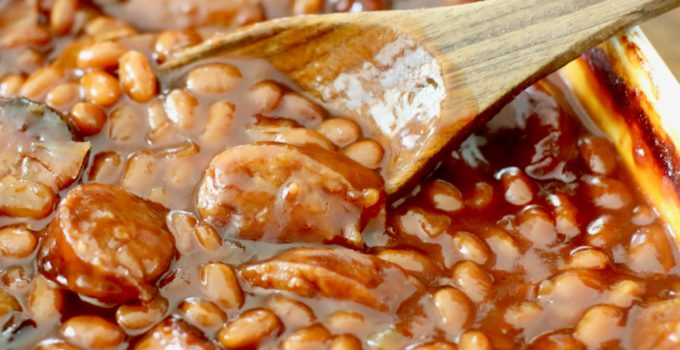Easy Sausage Baked Beans