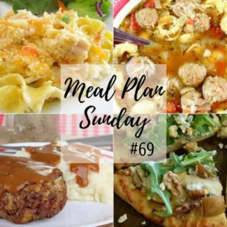 Slow Cooker Creamy Salsa Chicken at Meal Plan Sunday #69