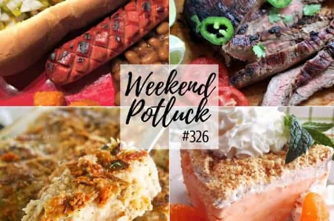 Weekend Potluck #326 Creamy Mushroom Chicken Bake