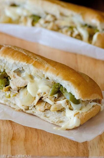 Chicken Philly 'Cheesesteaks'