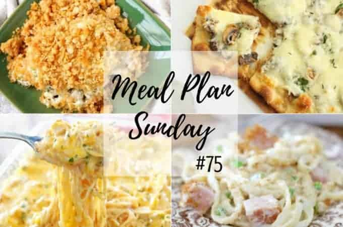 Chicken and Stuffing at Meal Plan Sunday #75