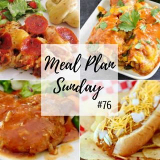 Chili Cheese Dogs at Meal Plan Sunday #76