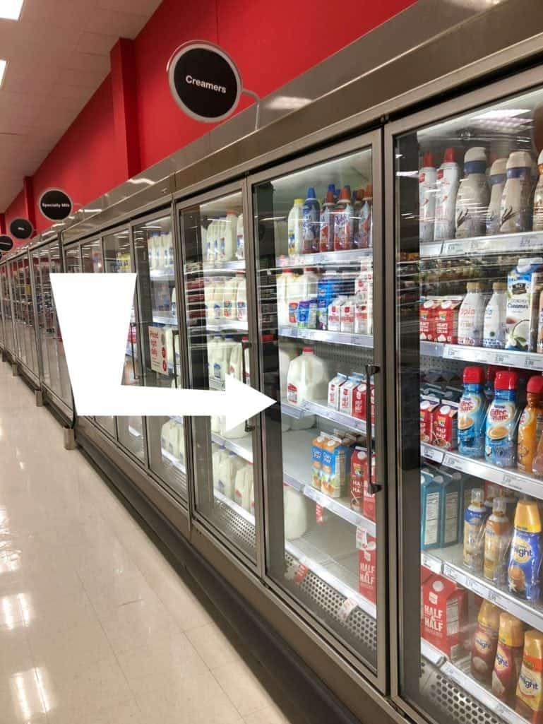 Creamers at Target