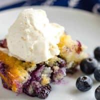 Easy Homemade Blueberry Cobbler Recipe