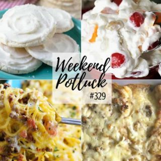 Southern Breakfast Enchiladas at Weekend Potluck #329