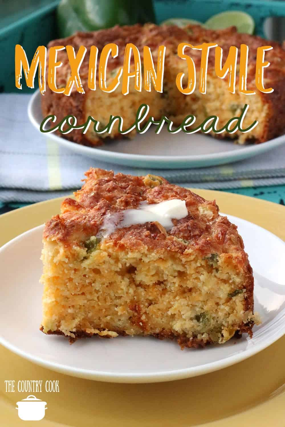 Mexican-Style Cornbread recipe from The Country Cook