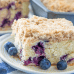 Blueberry Buckle Cake recipe