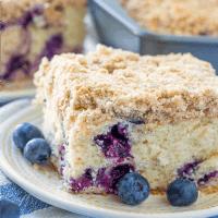 Recette de gâteau aux bleuets avec boucle