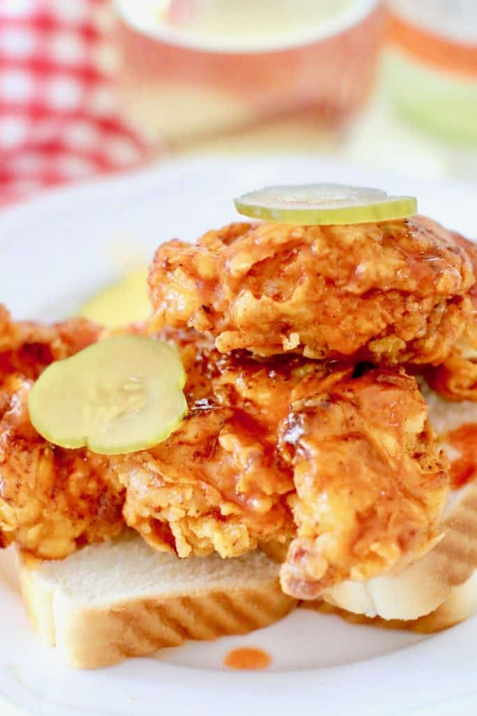 Easy, mild Nashville Fried Hot Chicken recipe