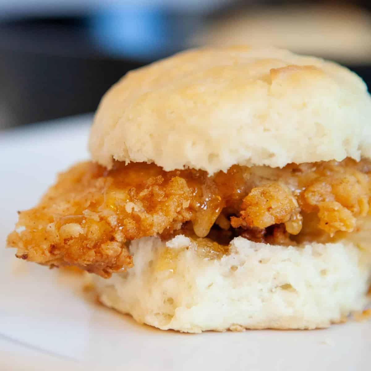 Buttermilk Chicken Biscuits recipe