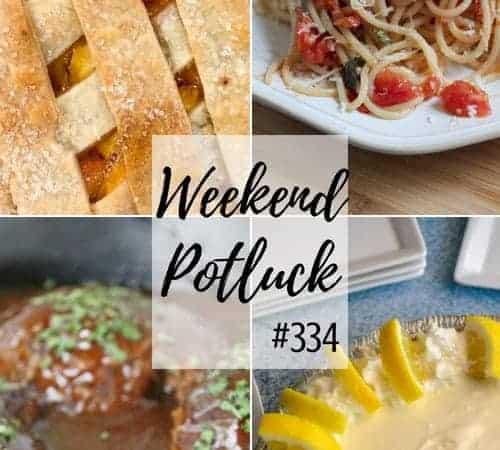 Fresh Peach Cobbler at Weekend Potluck #334