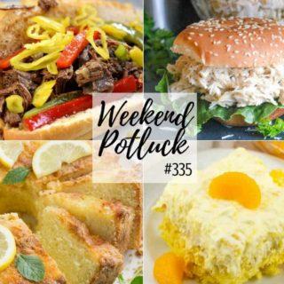 The Famous Ritz Carlton Lemon Pound Cake at Weekend Potluck #335