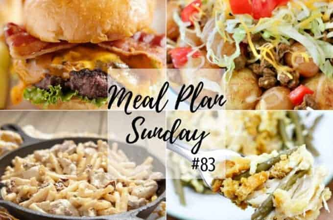 Slow Cooker Chicken and Stuffing at Meal Plan Sunday #83