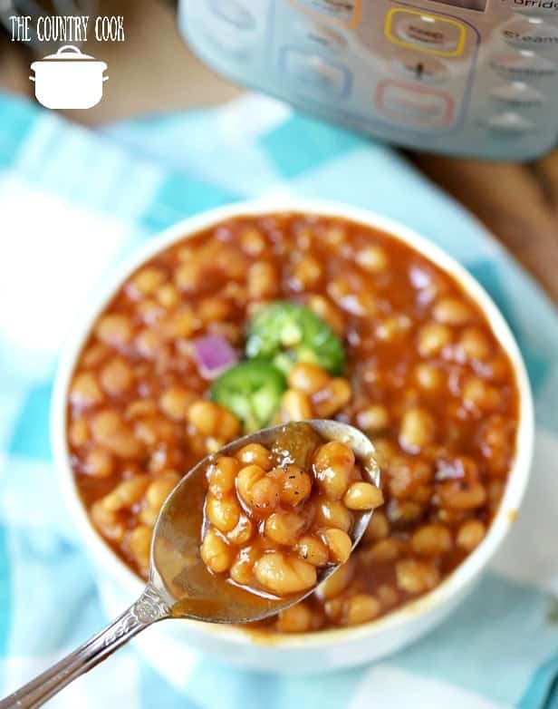 Homemade Instant Pot Baked Beans recipe