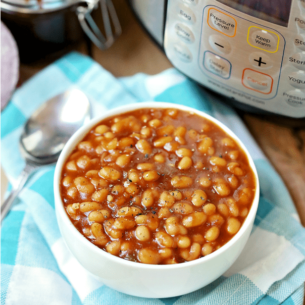 Instant Pot Baked Beans The Country Cook
