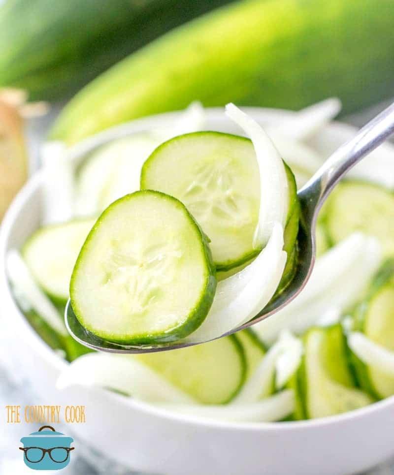 Vinegar Cucumber Salad