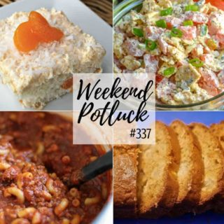 Tropical Orange Cake Weekend Potluck #337