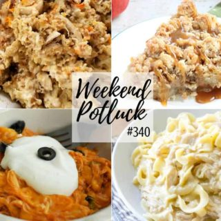Chicken and Stuffing at Weekend Potluck #340
