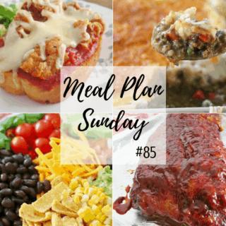 Chicken Enchilada Bake at Meal Plan Sunday #85