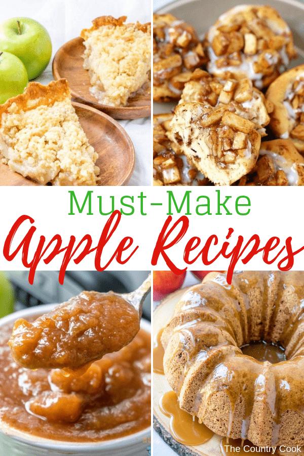Must-Make Apple Recipes