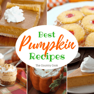 The Best Pumpkin recipes