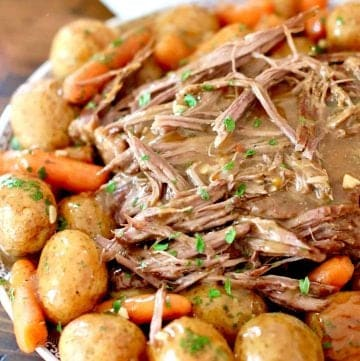 Perfect Instant Pot Roast (electric pressure cooker recipe)