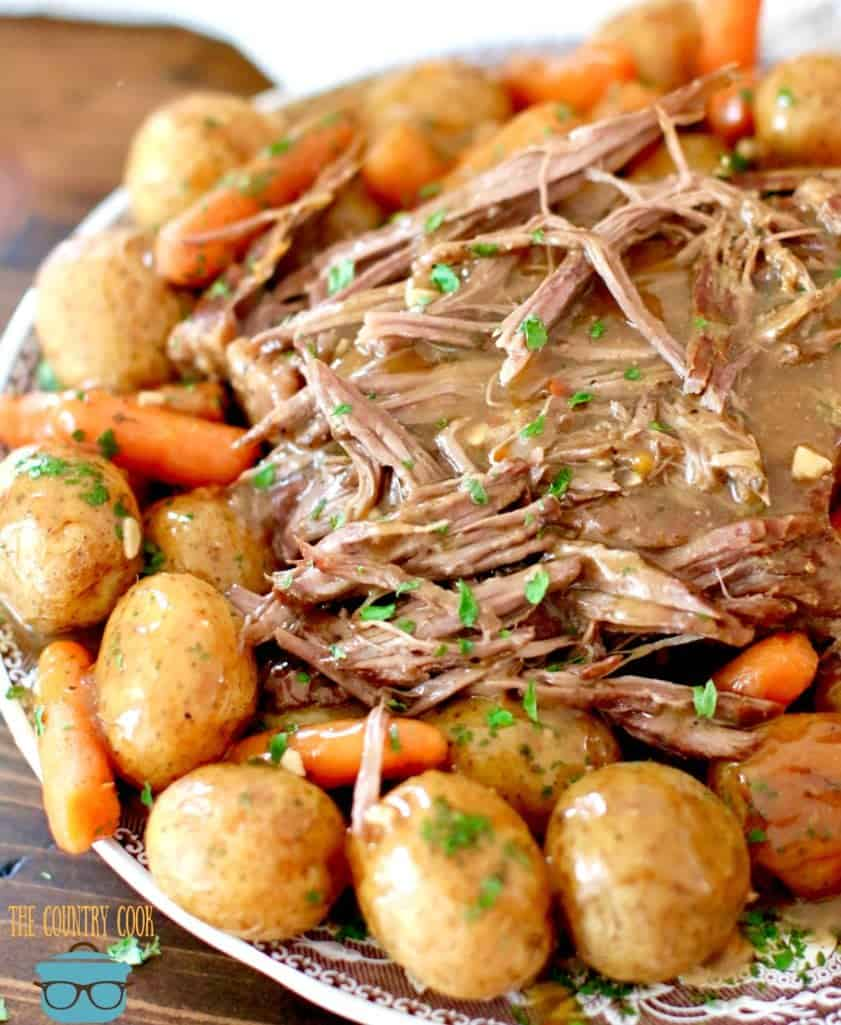 Perfect Instant Pot Roast with gravy