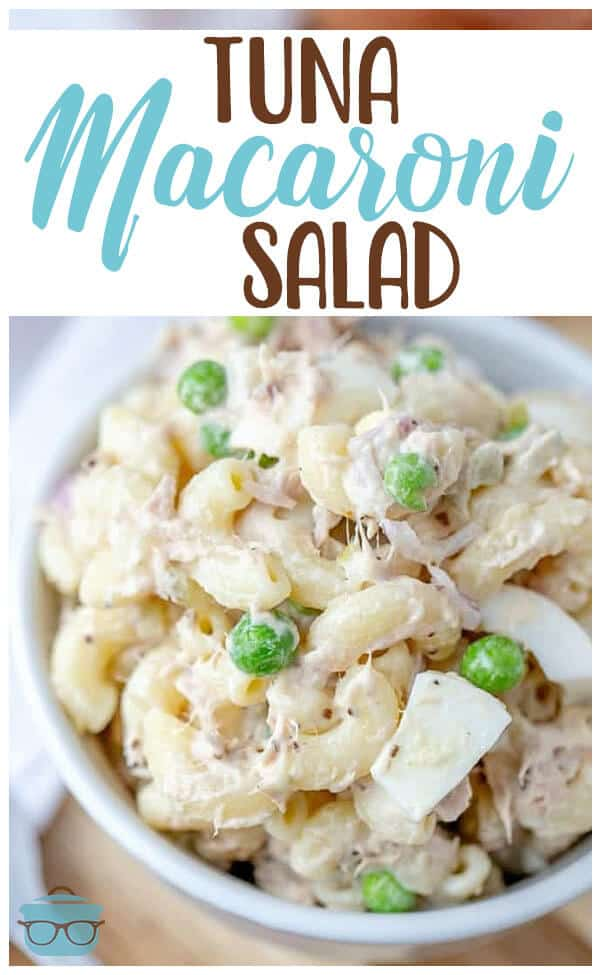 The Best Tuna Macaroni Salad recipe from The Country Cook