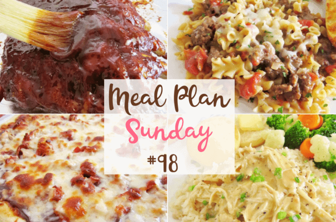 My favorite chicken and gravy at Meal Plan Sunday #98