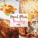 White Chicken Enchiladas at Meal Plan Sunday #99