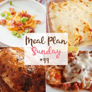 White Chicken Enchiladas at Meal Plan Sunday #99