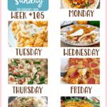 Creamy Tuscan Tortellini Soup ~ Meal Plan Sunday #105