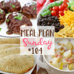 Crock Pot Chicken Lasagna at Meal Plan Sunday #104